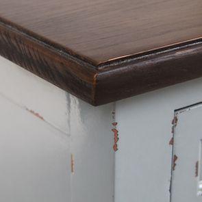 Petite commode 3 tiroirs vert sauge glossy - Visuel n°10