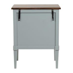 Petite commode 3 tiroirs vert sauge glossy - Visuel n°7
