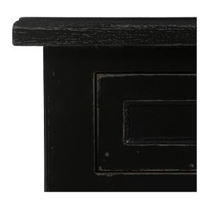 Petite commode 3 tiroirs en épicéa noire - Visuel n°8