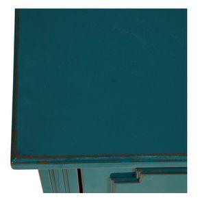 Commode sauteuse vert canard 2 tiroirs en épicéa - Visuel n°9
