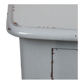 Commode 4 tiroirs vert sauge glossy - Visuel n°11