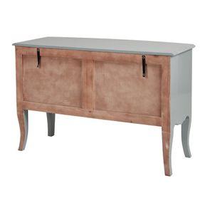 Commode 4 tiroirs vert sauge glossy - Visuel n°7