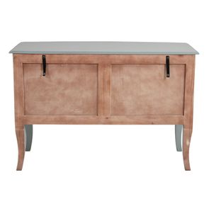 Commode 4 tiroirs vert sauge glossy - Visuel n°8