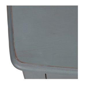 Commode 4 tiroirs nuage de bleu patiné - Visuel n°10