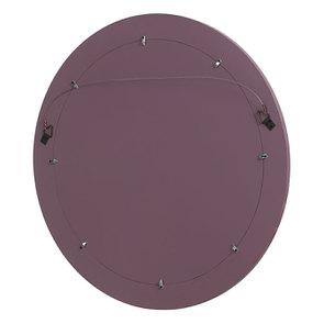 Miroir rond lilas en bois - Visuel n°3