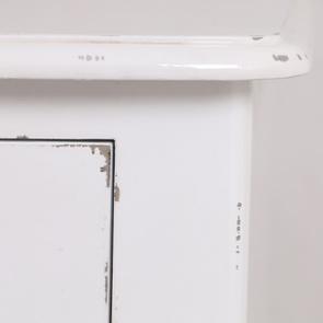 Commode blanche en épicéa 4 tiroirs - Visuel n°8
