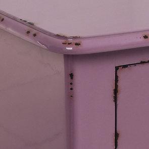 Commode 4 tiroirs en épicéa lilas L125 cm - Visuel n°6