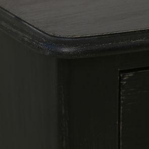 Commode noire 4 tiroirs en épicéa - Visuel n°10