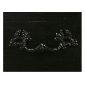 Commode noire 4 tiroirs en épicéa - Visuel n°12