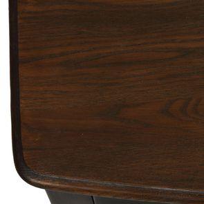 Commode noire patinée 4 tiroirs en épicéa - Visuel n°9