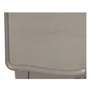 Petite commode gris patiné 3 tiroirs en épicéa - Visuel n°9
