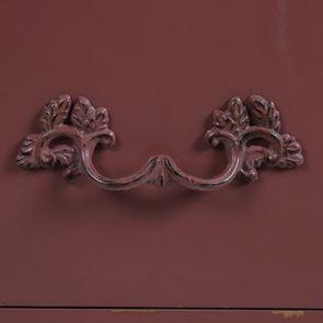 Commode 4 tiroirs vieux rose glossy - Visuel n°9