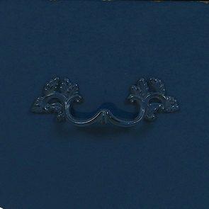 Commode 4 tiroirs en épicéa bleu saphir glossy - Visuel n°6