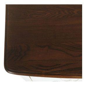 Commode 4 tiroirs en épicéa blanc patiné - Visuel n°9