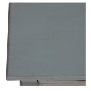 Table basse rectangulaire nuage de bleu patiné - Visuel n°9