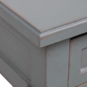 Table basse rectangulaire nuage de bleu patiné - Visuel n°10