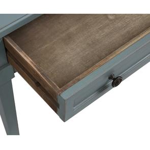 Table basse rectangulaire nuage de bleu patiné - Visuel n°11