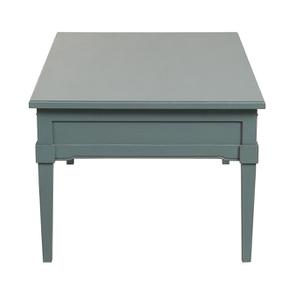 Table basse rectangulaire nuage de bleu patiné - Visuel n°5
