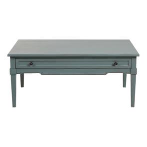 Table basse rectangulaire nuage de bleu patiné - Visuel n°7