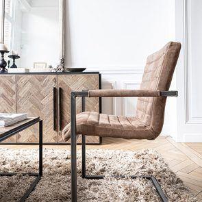 Bas de buffet industriel en bois et acier - Haussmann - Visuel n°6