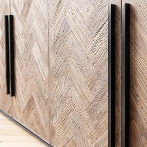 Bas de buffet industriel en bois et acier - Haussmann - Visuel n°11