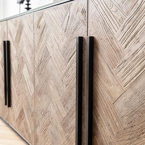Bas de buffet industriel en bois et acier - Haussmann - Visuel n°12