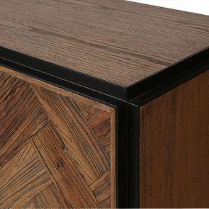 Bas de buffet industriel en bois et acier - Haussmann - Visuel n°14