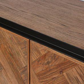 Bas de buffet industriel en bois et acier - Haussmann - Visuel n°16