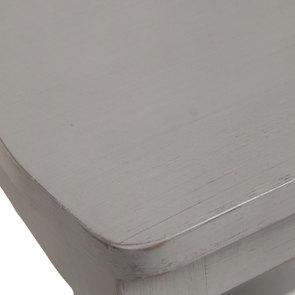 Chaise en bois gris perle - Brocante - Visuel n°8
