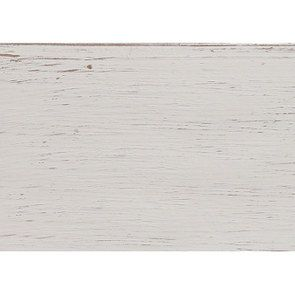 Secrétaire blanc 4 tiroirs en pin massif - Château - Visuel n°2