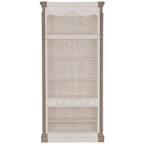 Set de finition pour bibliothèques modulables en pin gris argenté - Château - Visuel n°2