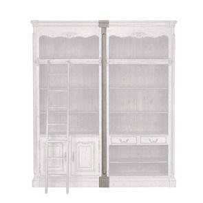 Set de jonction pour bibliothèques modulables en pin gris argenté - Château - Visuel n°2