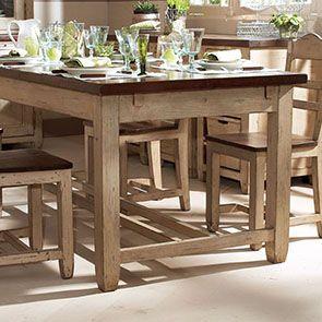 Table extensible en pin 8 à 10 personnes - Brocante - Visuel n°4