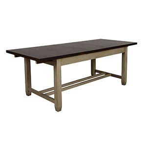 Table extensible en pin 8 à 10 personnes - Brocante - Visuel n°7