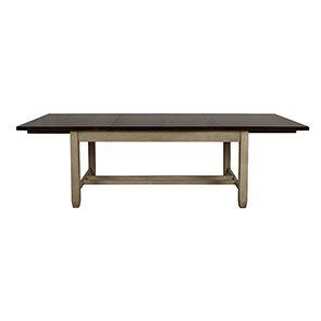 Table extensible en pin 8 à 10 personnes - Brocante - Visuel n°8