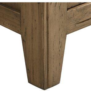 Bibliothèque 2 portes vitrées en bois massif - Initiale - Visuel n°10