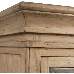 Bibliothèque 2 portes vitrées en bois massif - Initiale - Visuel n°11
