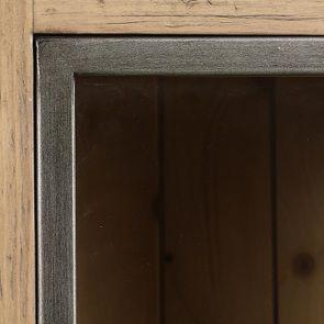 Bibliothèque 2 portes vitrées en bois massif - Initiale - Visuel n°12