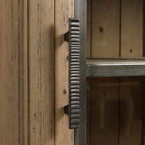 Bibliothèque 2 portes vitrées en bois massif - Initiale - Visuel n°13