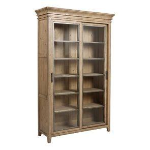 Bibliothèque 2 portes vitrées en bois massif - Initiale - Visuel n°6