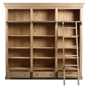 Bibliothèque ouverte en bois massif - Initiale - Visuel n°9