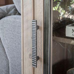 Console 2 portes vitrées en bois massif - Initiale - Visuel n°3