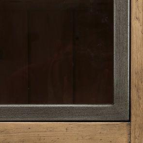 Console 2 portes vitrées en bois massif - Initiale - Visuel n°14