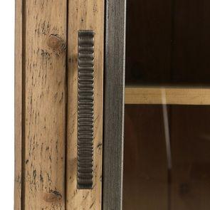 Console 2 portes vitrées en bois massif - Initiale - Visuel n°16
