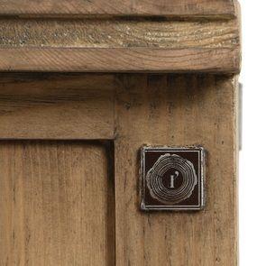 Console 2 portes vitrées en bois massif - Initiale - Visuel n°17
