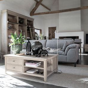 Table basse en bois massif - Initiale