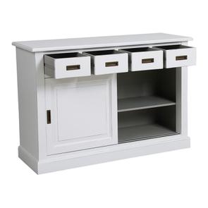 Bas de buffet 4 tiroirs 2 portes - Rhode Island - Visuel n°3