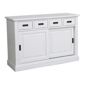 Bas de buffet 4 tiroirs 2 portes - Rhode Island - Visuel n°4