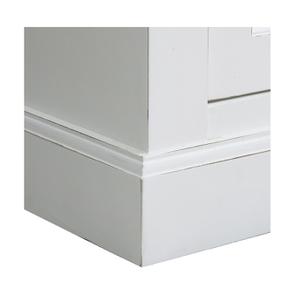 Bas de buffet 2 portes 4 tiroirs blanc - Rhode Island - Visuel n°11
