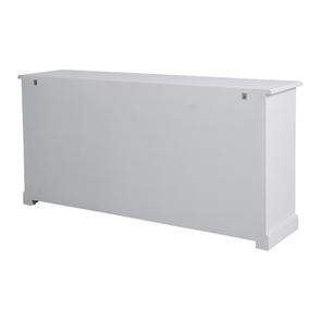 Bas de buffet 2 portes 4 tiroirs blanc - Rhode Island - Visuel n°8